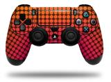 Vinyl Decal Skin Wrap compatible with Sony PlayStation 4 Dualshock Controller Faded Dots Hot Pink Orange (PS4 CONTROLLER NOT INCLUDED)