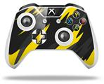 Skin Wrap for Microsoft XBOX One S / X Controller Jagged Camo Yellow