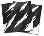 Vinyl Craft Cutter Designer 12x12 Sheets Jagged Camo White - 2 Pack
